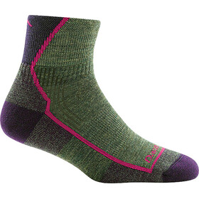 DARN TOUGH VERMONT Hiker 1/4 Cushion Socks Women moss heather